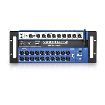 Soundcraft Ui24R 24-Channel Digital Mixer/USB Recorder With Wireless Control • 888.94£