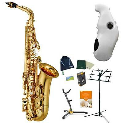 YAMAHA / YAS-480 Standard Alto Sachs  All 6 Benefits + Silencer With E-sax F/S • 3,843.07£