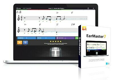 EarMaster 7 (EarMaster Pro 7) THE BEST MUSIC THEORY TRAINER • 38.44£