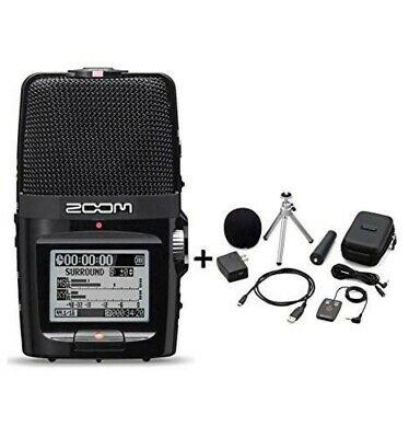 ZOOM H2n Handy Portable Recorder PCM / Accessoary Kit APH-2n From JAPAN New • 159.54£