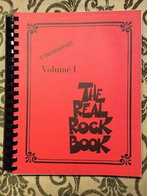 Real Rock Book Vol 1 For C Instruments By Hal Leonard Corporation Excellent  • 21.33£