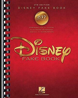 The Disney Fake Book 4th Edition By Hal Leonard Corporation (Paperback, 2016) • 23.59£