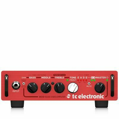 TC ELECTRONIC BH250 Bass Amp New! FREE 2DAY • 237.98£