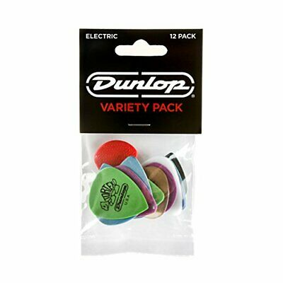 Dunlop Pick Variety Pack, 12pc Player Pack, Electric • 4.09£