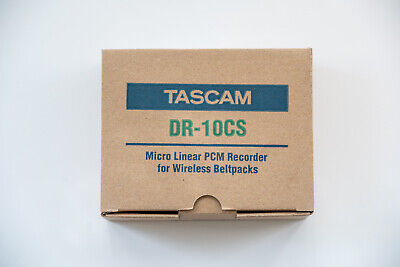 Tascam DR-10CS Micro Linear PCM Recorder For Sennheiser Lavalier Microphones • 191.08£