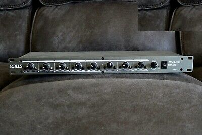 Rolls RM82 Rack Size Microphone And Line Level Mixer. • 133.29£