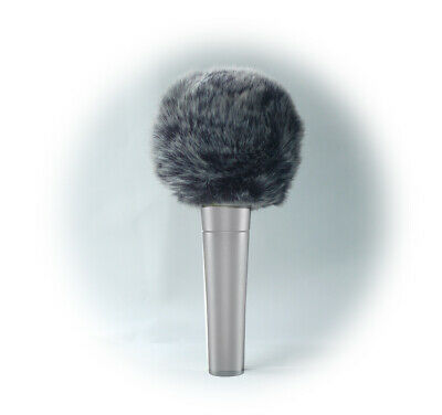 Microphone Furry Fur Windscreen Cover For Shure SM58 Beta 58 87A PG58 PGA48LC   • 12£