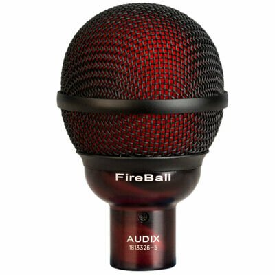 Audix Fireball Ultra-Small High-Performance Dynamic Harmonica Microphone • 119.28£