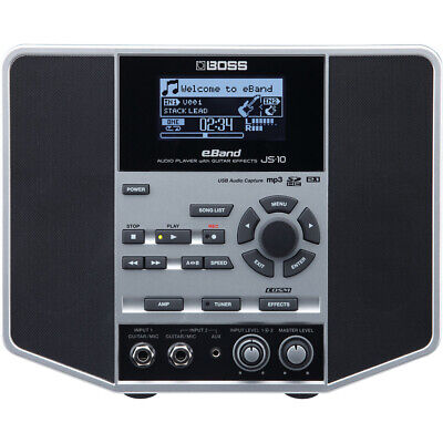 BOSS EBand JS-10 Audio Player With Guitar Effects • 293.76£