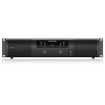 Behringer NX Range Of Class D Power Amplifiers (Model NX3000 Power (W) 3000) • 224.80£