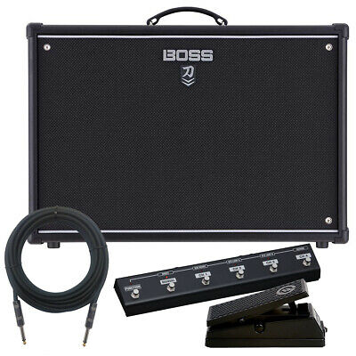 Boss Katana-100/212 MkII Guitar Amplifier COMPLETE STAGE BUNDLE • 446.25£
