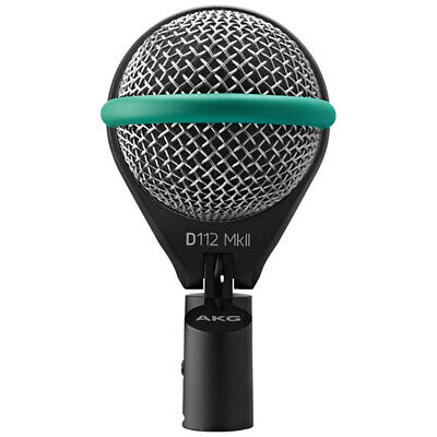 AKG D112 MkII Professional Bass Kick Drum Microphone • 161.72£