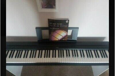 Yamaha P-45 Digital 88 Weighted Key Stage Piano With White L-85 Stand  • 181£