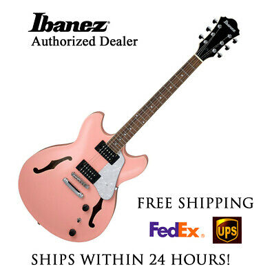 **ibanez As63crp Semi-hollow Electric Guitar W/ Full Setup And Free Shipping!!** • 283.30£