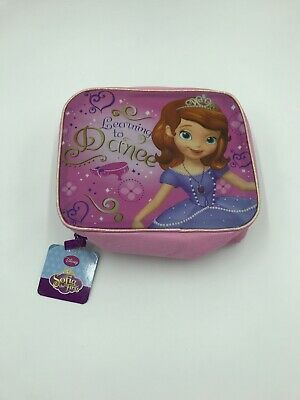 Disney Junior Sofia The First Soft Side Insulated Lunch Bag With Glitter Detail  • 10.89£