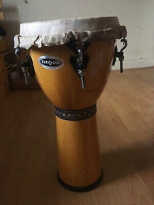 Djembe With Brand New African Skin • 60£