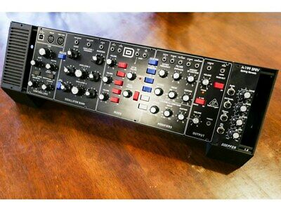 [FREE SHIPPING] DCAPS For Arturia Keystep And Behringer Model D In BLACK Colour • 35£