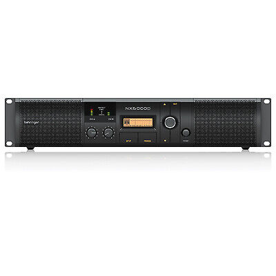 Behringer NX6000D Range Of Class D Power Amplifiers With DSP Control • 422.70£