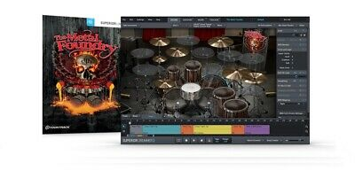 Toontrack The Metal Foundry Sdx Sound Library Expansion Kit For Superior Drummer • 110.67£