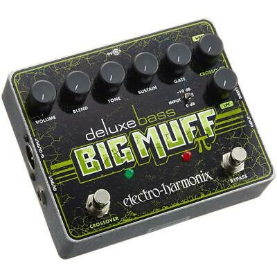Electro-Harmonix DELUXE BASS BIG MUFF PI Distortion/Sustainer Pedal • 110.07£