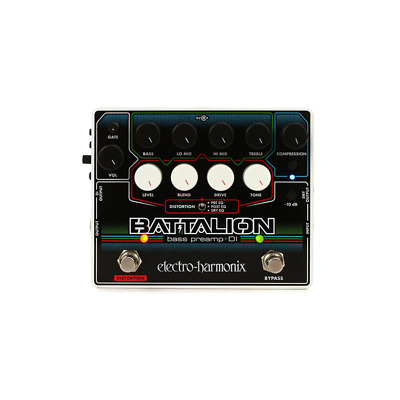Electro-Harmonix Battalion Bass Preamp And DI • 194.14£