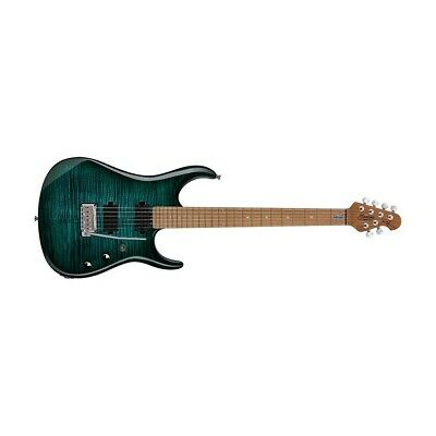 Sterling by Music Man John Petrucci Signature Flame Maple Top Teal