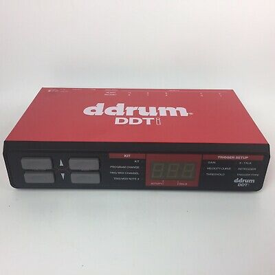 Ddrum DDTI Drum Trigger To Computer USB MIDI Interface For Electronic Drums • 101.20£
