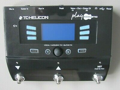 Tc Helicon Play Accoustic Processor, Plus Matching Helicon Mp75 Microphone • 265£