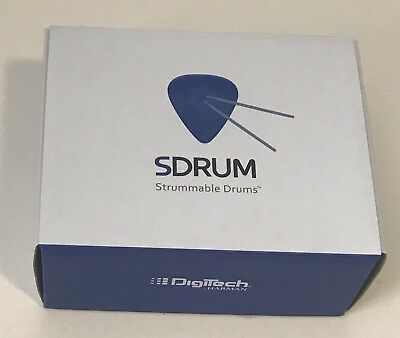 SDrum Strummable Drums - Drum Machine Guitar Effects Pedal.  Open Box,  COMPLETE • 94.29£