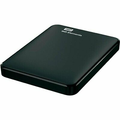Brand New Elements 2TB Portable External Hard Drive Black Free Shipping • 120£