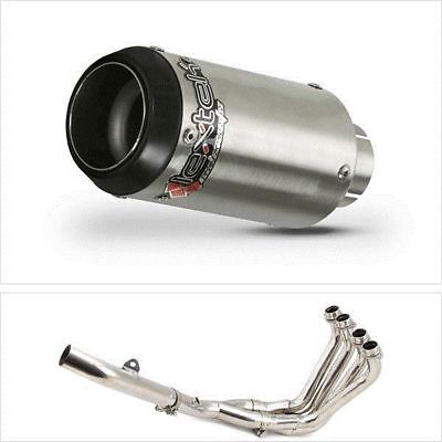 Yamaha YZF R6 2006 To 2016 Lextek S/Steel Exhaust System CP1 150S Stubby End Can • 360.99£