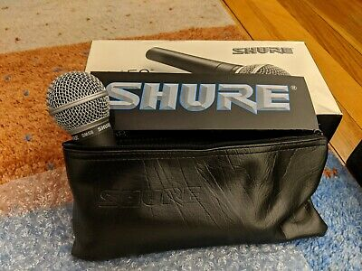 Shure SM58 Vocal Microphone. Original Box.  XLR Cable.  Carrying Case.  • 26.64£