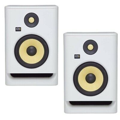 KRK RP5G4WN ROKIT 5 G4 5  2-Way Active Studio Monitor White Noise (Pair) • 261.87£