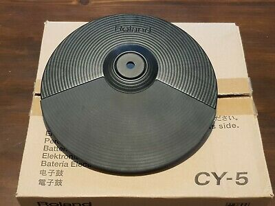 Studio Roland CY-5 V DRUMS Electronic Dual Zone Cymbal Hi Hat In Original Box • 30£