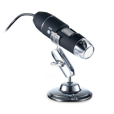 1000X Zoom 8 LED USB Microscope Digital Magnifier Endoscope Video Stand O1H5 • 13.49£
