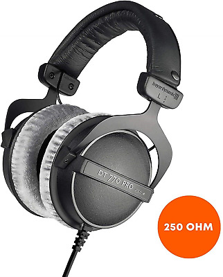 Beyerdynamic DT 770 PRO Studio Headphones - 250 Ohm • 109.01£