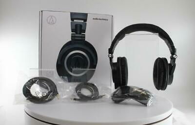 Audio-Technica Professional Studio Monitor Headphones - Black (ATH-M50X) • 299.99£