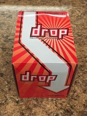 New Digitech The Drop Polyphonic Drop Tune Pedal • 118.17£