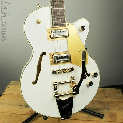 Gretsch G5655TG Limited Edition Electromatic Gold Hardware Snow Crest White • 687.59£