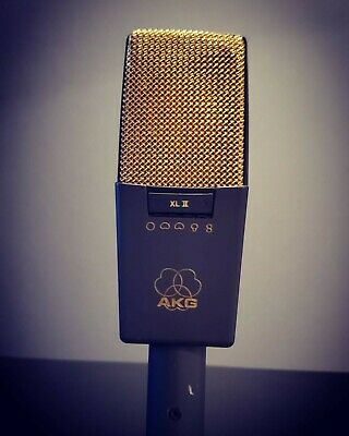 AKG C414 B-XLII Condenser Cable Professional Microphone • 550.62£