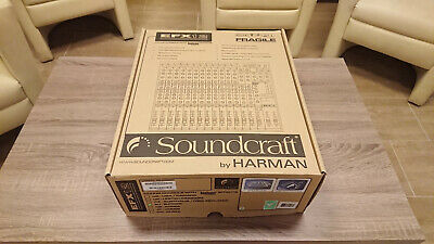 Soundcraft EFX12 12-Channel Mixer With Lexicon Effects • 250£