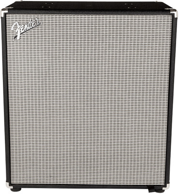 Fender Rumble™ 410 Cabinet (V3), Black/Silver • 315.92£