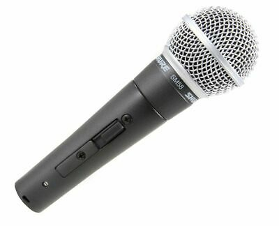 Shure SM58S Cardioid Dynamic Vocal Microphone Microphone W/ On/Off Switch • 75.25£