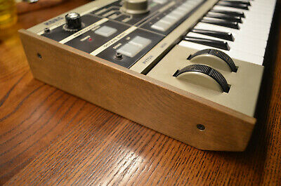 KORG Microkorg Replacement Wood Sides, Plates, Parts. • 17.37£