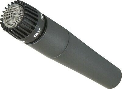 Shure SM57-LC Legendary Unidirectional Dynamic Pro Instrument Microphone • 75.66£