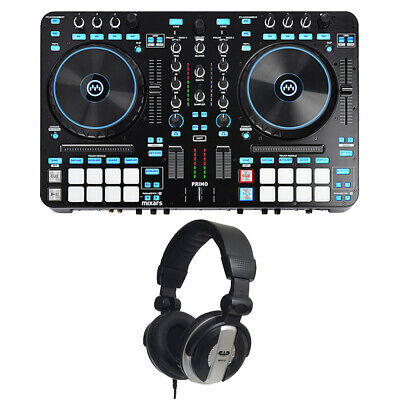 Mixars Primo 2 Channel Pro DJ Controller/Mixer With MH110 Studio Headphones • 360.77£