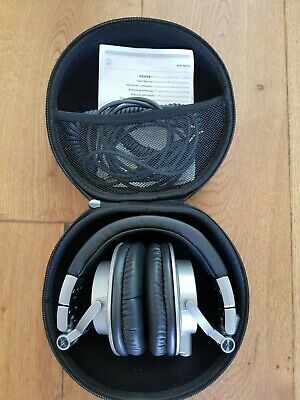 Audio-Technica ATH-M50X. Quality Wired Headphones - Black. Excellent Condition. • 37£