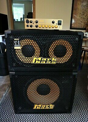 Mark Bass Traveler Cabs(102P & 151P) & Little Mark Tube 800w Head - Great Stack • 930£