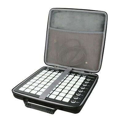 Co2CREA Hard Travel Case For Novation Launchpad Mk2 / X MIDI Grid Controller ... • 22.82£