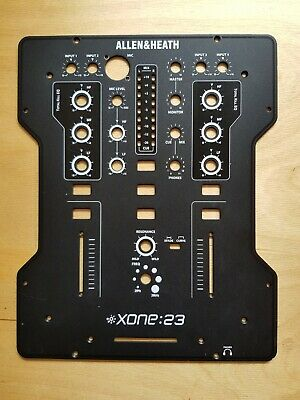 Allen & Heath Xone 23 Face Plate Face Panel Front • 18.99£